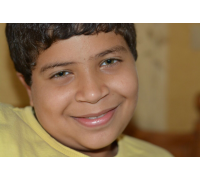Abdul Rahman with a dreamy smile at the age of thirteen - Cairo  (2015)