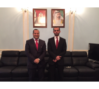 Meeting with the Police Attaché of UAE's Embassy – London (August 2015)