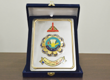 Shield of honor from the Faculty of Arts, Ain Shams University, for implementing the Corporate Excellence Initiative - Cairo  (3rd December 2015)