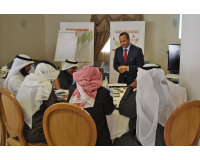 Active participation by one of the trainees of the General Secretariat of Gulf Cooperation Council (Group 6) during the L4E program - Riyadh (16th-17th December 2015)