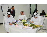 Active participation by one of the leaders of Abu Dhabi Media Company during the program: