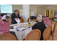 During a discussion with trainees from the General Secretariat of Gulf Cooperation Council (Group 8) – J2E program – Riyadh  (6th-7th January 2016)