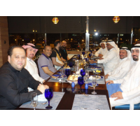 Dinner invitation on Jeddah Corniche with H.E. Dr. Adel Fida, the Assistant Secretary-General of Holy Makkah Municipality, and his friends (Friday, 17th April 2015)